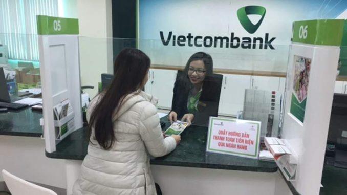 tra chi nhánh ngân hàng qua số tài khoản vietcombank