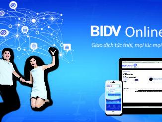 hưỡng dẫn đăng ký dịch vụ internet banking bidv
