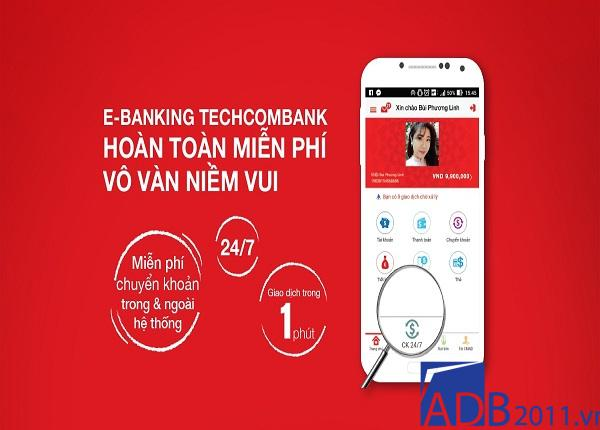 cách đăng ký internet banking của techcombank