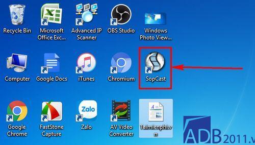 Cách cài đặt phần mềm sopcast đơn giản nhất