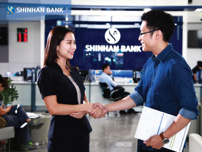 giờ làm việc ngân hàng shinhan