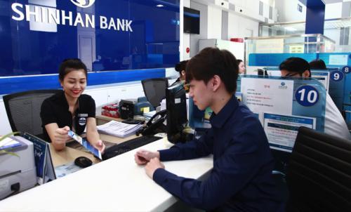 Thông tin về giờ làm việc ngân hàng Shinhan