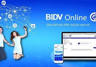 Hướng dẫn cách mở tài khoản ngân hàng BIDV Online đơn giản