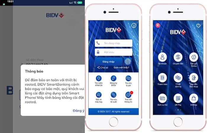 Ngân hàng BIDV bảo trì
