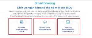 ngân hàng BIDV online